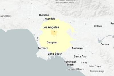 Los Angeles area rattled by 3.6 magnitude earthquake