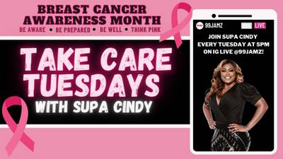 Catch Take-Care Tuesdays Throughout Breast Cancer Awareness Month!
