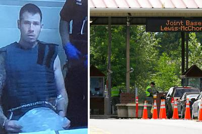 Army Ranger charged in fatal bludgeoning of female security guard caught on camera