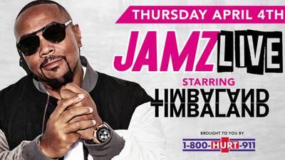 JAMZ LIVE starring Timbaland