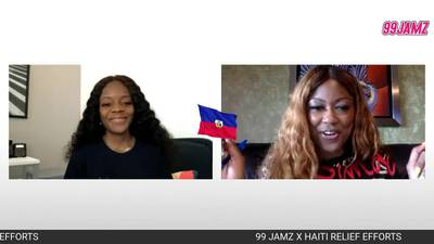 Haiti Relief Interview with Supa Cindy and Wanda Tima (Lunion Suite)